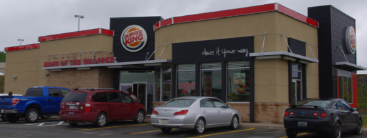 New Burger King restaurant in New Glasgow, NS